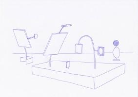 2015 ST [proyecto de display] tinta sobre papel 30x20cm